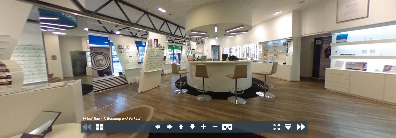 Virtual Tour - Optik und Akustik Hölker